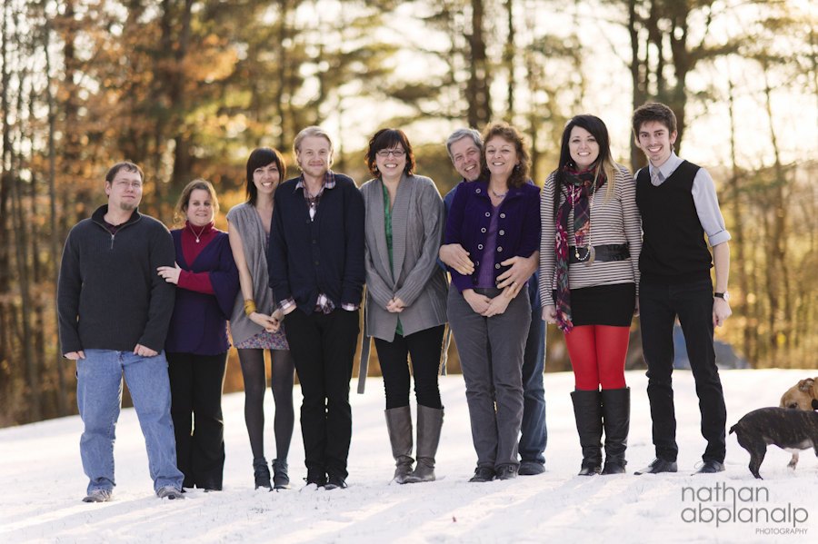 A Christmas In Vermont.Christmas In Vermont Charlotte Family Photographer