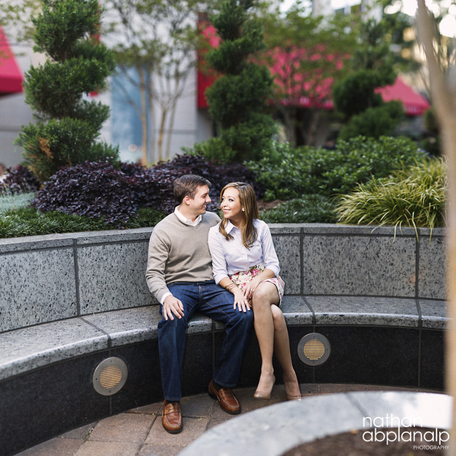 Uptown Charlotte Engagements
